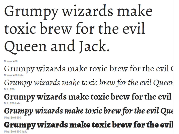 22+ Google Fonts for Designers and Developers
