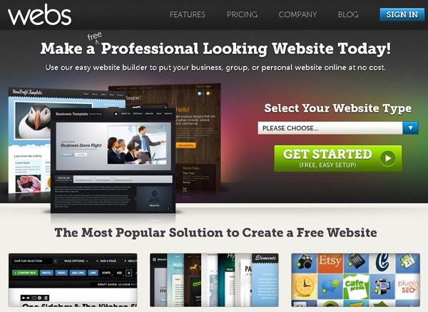 20 Free Best Online Web Builder Tools Design News