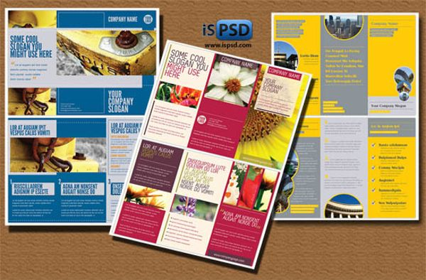 Awesome designs of brochure templates for designers free design news awesome designs of brochure templates for designers free pronofoot35fo Gallery