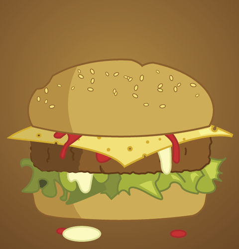 Awesome and Delicious Burger Design