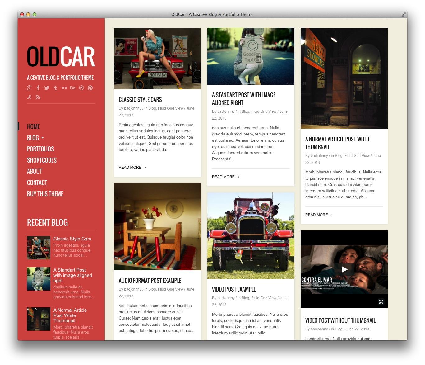 Attractive Tumblr Themes For Wordpress Illustration - Resume Ideas ...