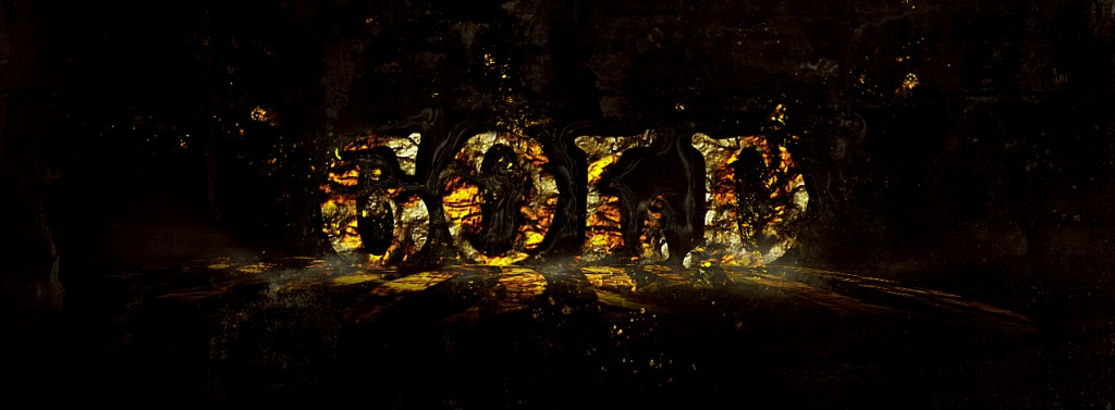 Tutorial on Creating Disintegrated Golden Text in Photoshop