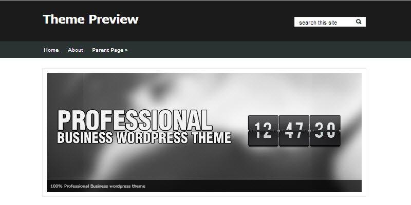 Free WordPress Business Templates