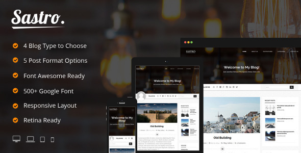224+ Beautiful WordPress Personal Blog Themes