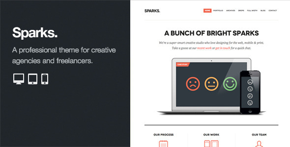WordPress Themes for Creative Agencies
