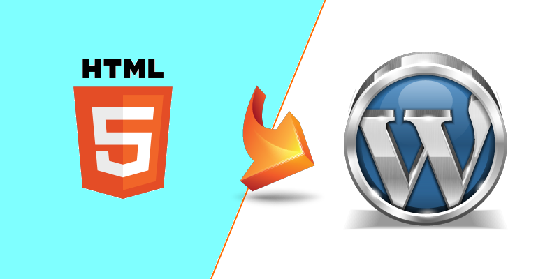 Give Your Website a New Look with HTML to WordPress Conversion