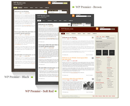 15+ Free Premium WP Themes for Download