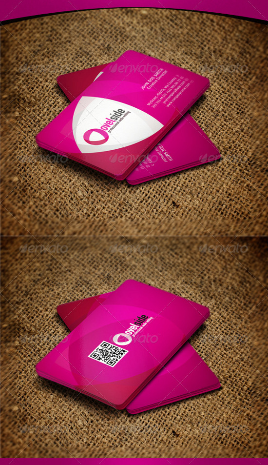 35+ Pink Business Cards to Inspire You