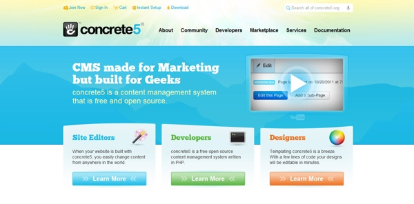 15+ Absolutely Free Content Management Systems (CMS)