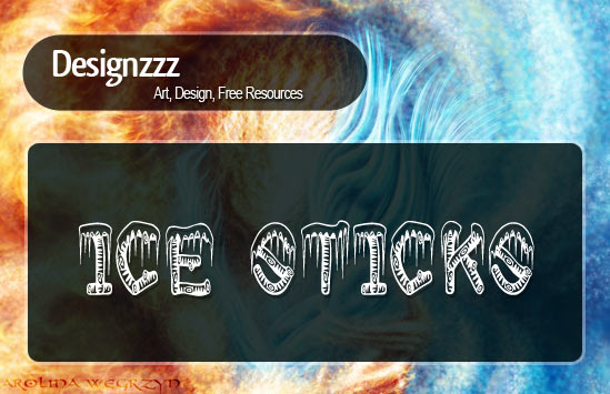 20+ Awesome Fire and Ice Fonts styles
