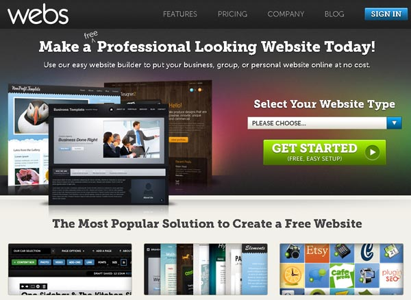 20+ Free Best Web Builders Tools Online