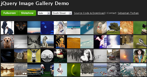 20+ jQuery Plugins for Photo Gallery