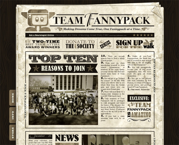 25+ Top Newspaper Inspired Web Designs