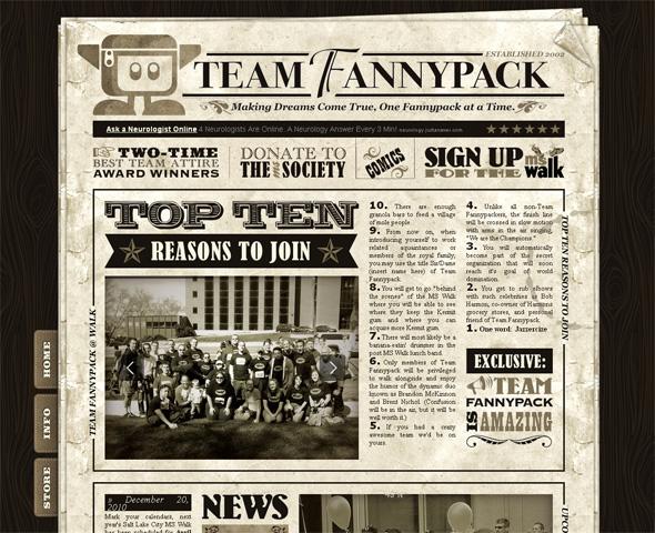 25+ Top Newspaper Inspired Web Designs