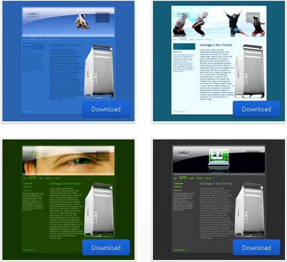 35+ Awesome RapidWeaver Themes