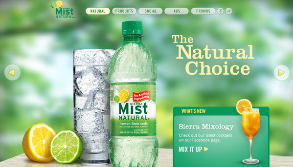 Top Beverage related Website Designs