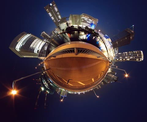 Awesome Creation of Little Planets Using Photoshop