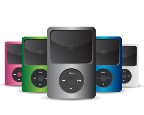 Best Slick IPod Icon Design Creation Using Illustrator