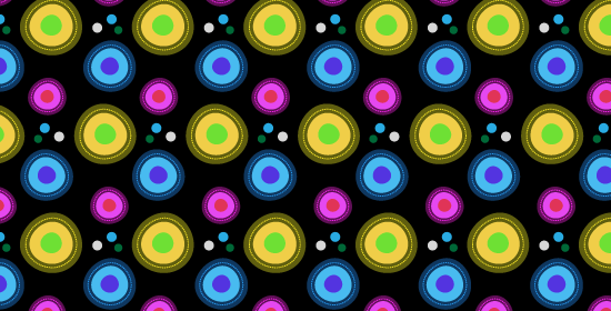 Cool Photoshop And Illustrator Retro Vibrant Free Patterns