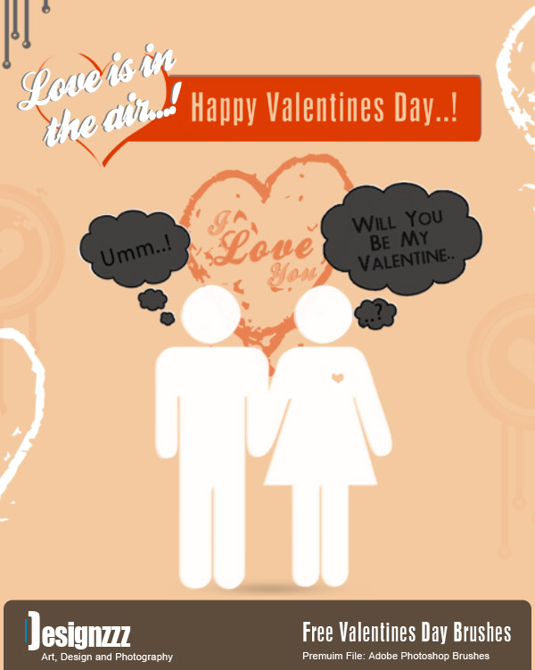 Download Valentines Day Brushes for Photoshop Free