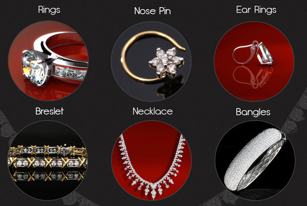 Free Jeweler's Website PSD Templates to Download