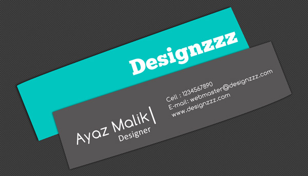 Free PSD Templates for Visiting Cards