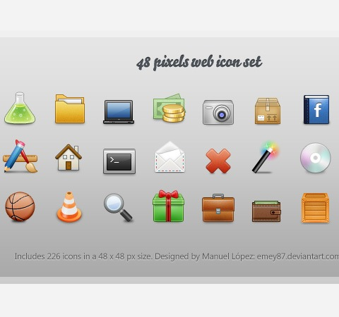 45+ Beautiful Icon Designs From 2011 Free