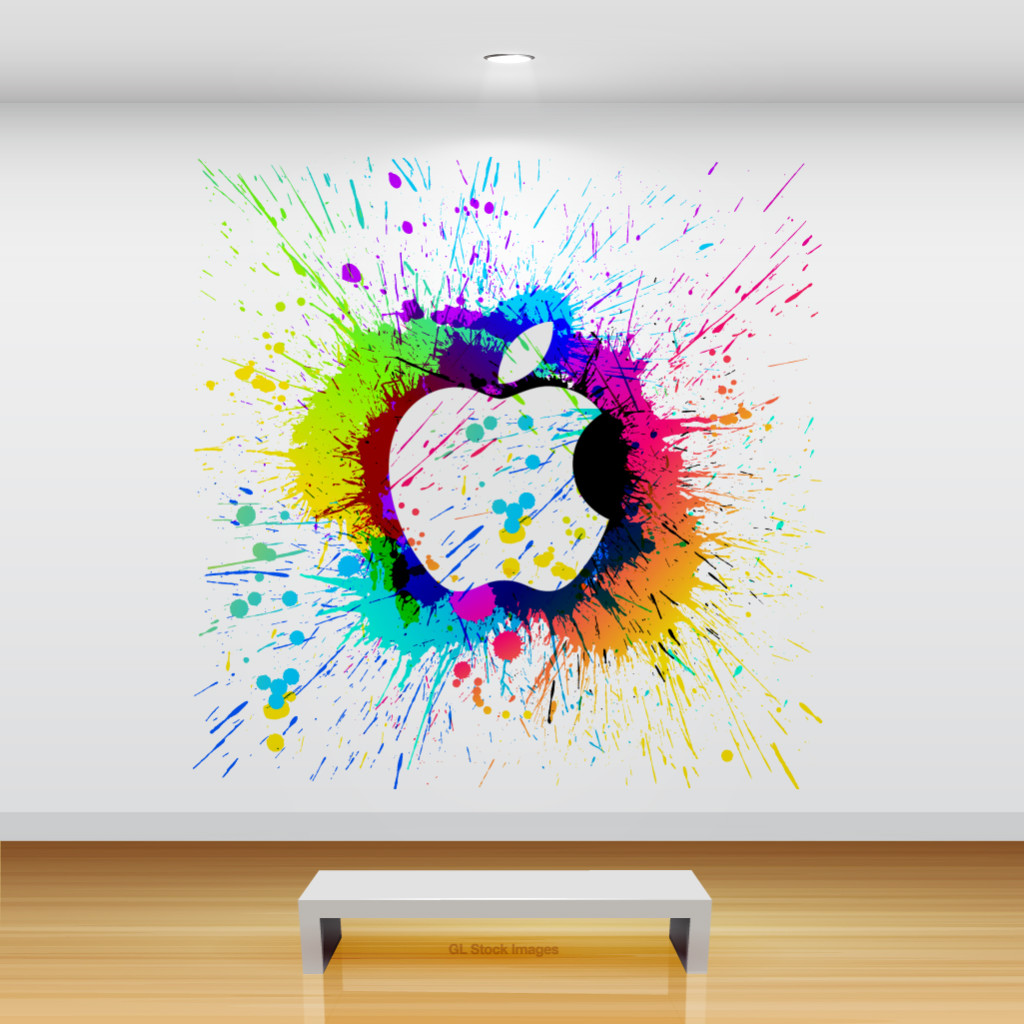 Beautiful Artsy Apple iPad Backgrounds