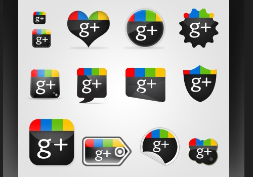 Beautiful Google Plus Icon Sets Free
