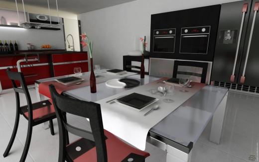 Beautiful Modern Kitchen Interior Designs Free