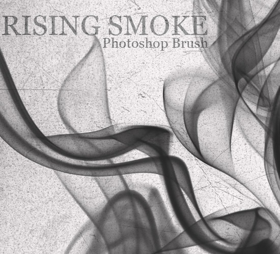 Beautiful Rising Smoke Photoshop Brush Free