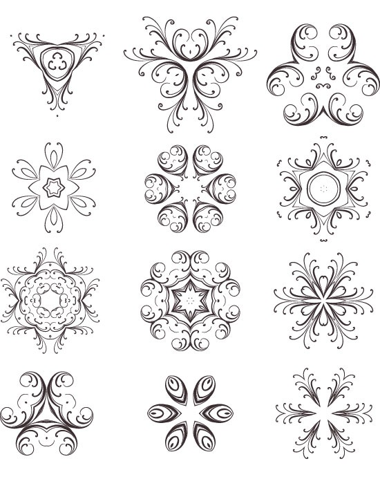 Beautiful Spectacular Creative Vector Elements Set Free