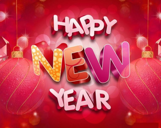 Download New Year Greeting Cards Collection Free