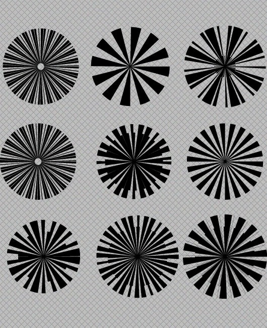 Free Star Burst Vector & Photoshop Brush Designs