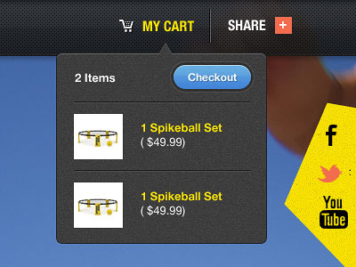 Awesome Shopping Cart Website Designs Free