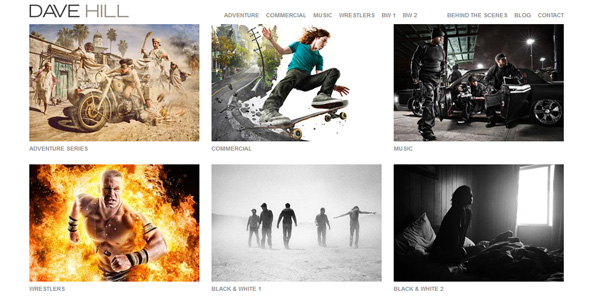 Beautiful Professional Photographer Portfolio Website Designs Free