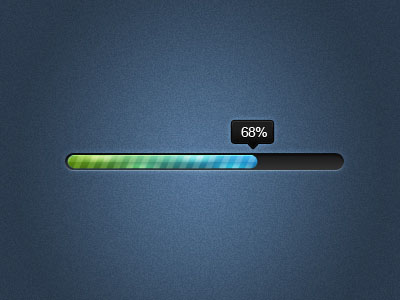 Beautiful Progress Bar Designs Freely Available