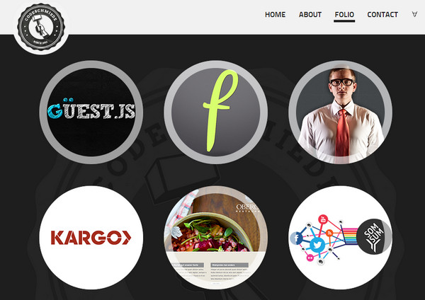 Best Circular Elements Website Designs Free