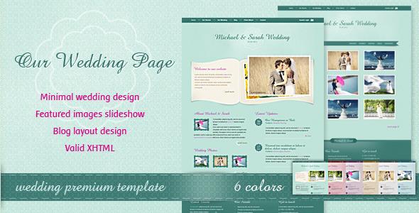 Best Premium Wedding Websites Designs