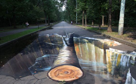 Creative 3D Street Painting Designs Free