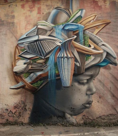 Creative and Powerful Street Art Graffiti Designs