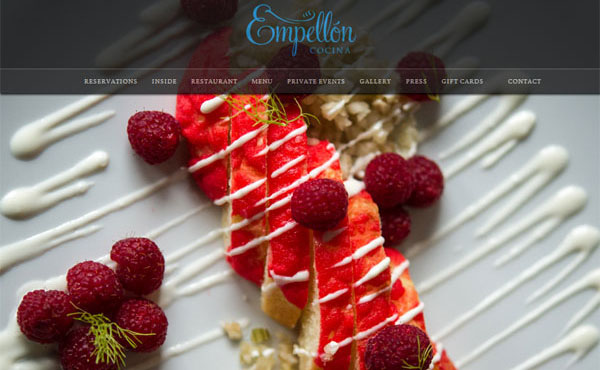 Nice Cafe & Restaurant Website Designs
