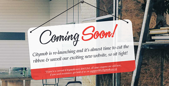 Nice Coming Soon Page Design Examples Free