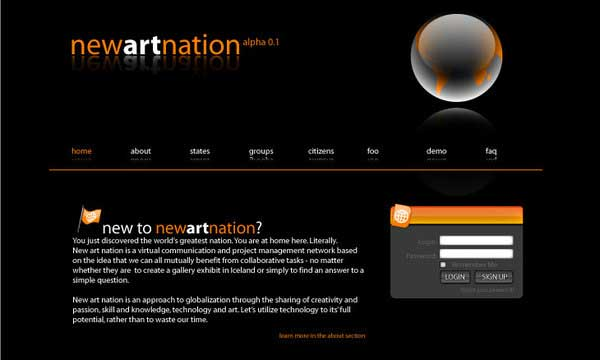 Top 25 Inspiring Art Web Site Designs