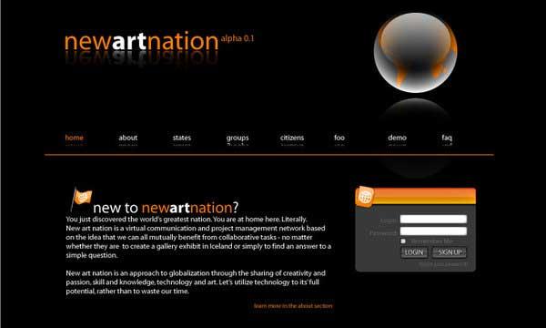Top 25 Inspiring Art Web Site Designs