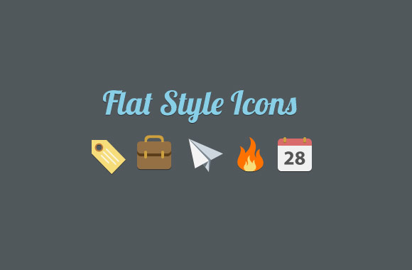 15+ Flat Mobile Icons for Your Inspiration