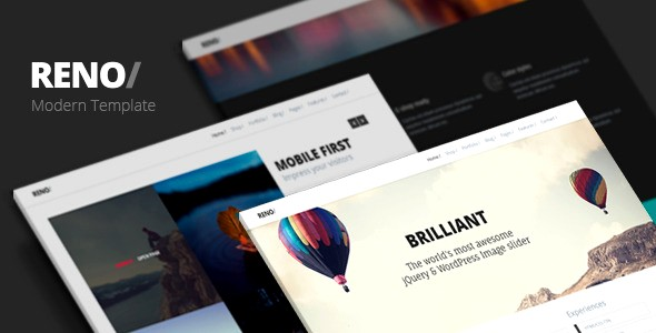 25+ Amazing Parallax Website Templates