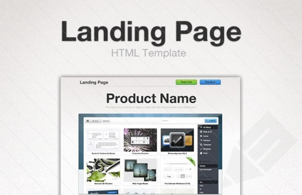 40+ Gorgeous Landing Page Designs