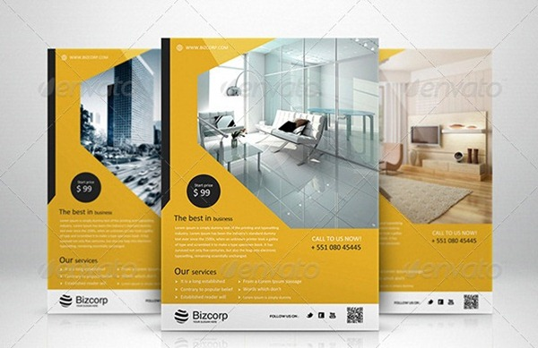 Best 25+ Professional Corporate Flyer Templates