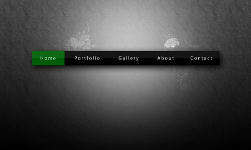 How to Create a Glossy Navigation Bar in Photoshop